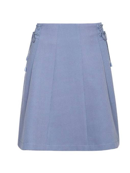 A Line Lace-Up Women's Mini Skirt