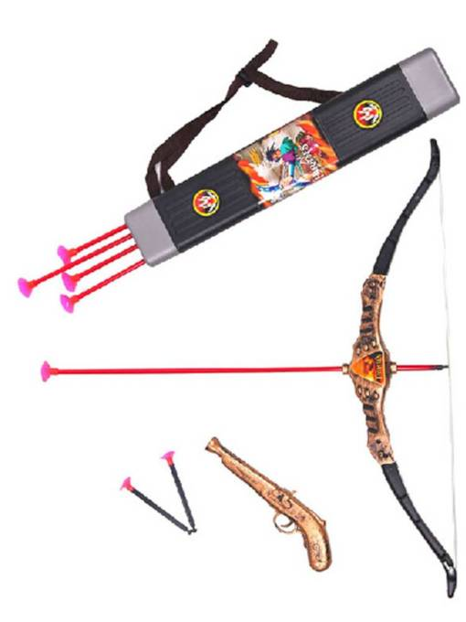 Halloween Props Simulation Pirates Bow and Arrow