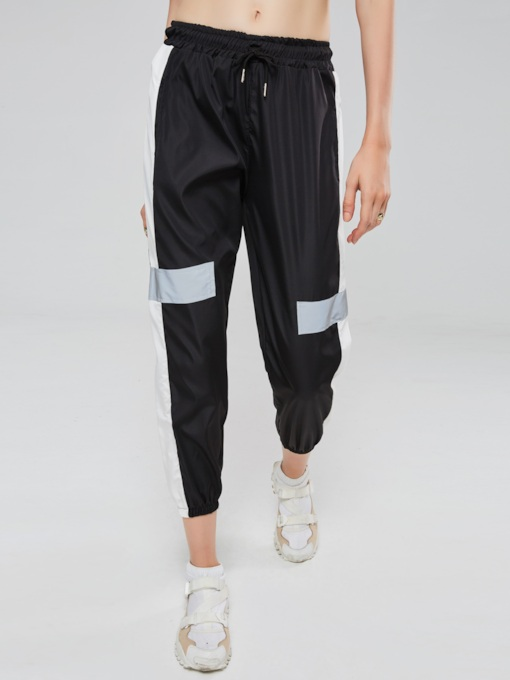 Color Block Patchwork Women's Harem Pants