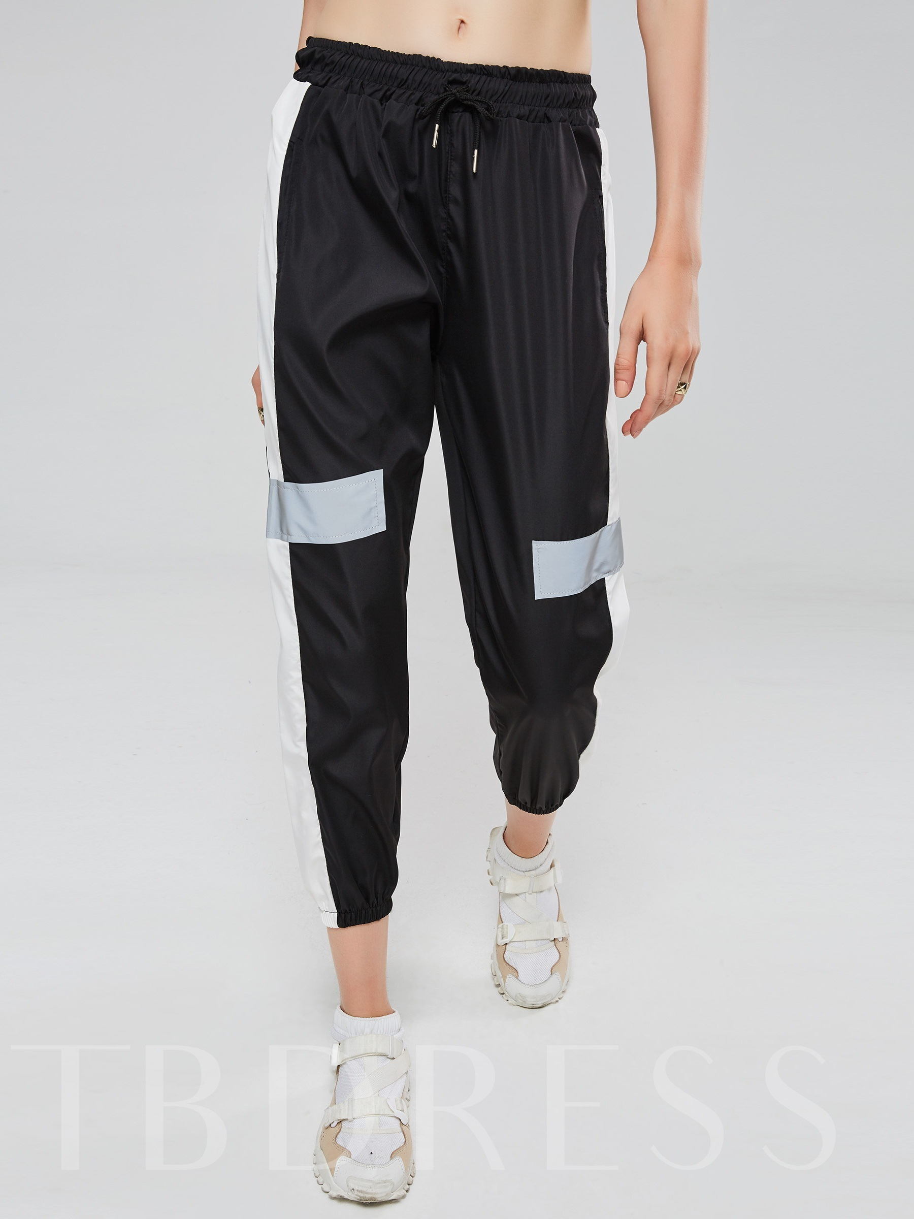 Buy Color Block Patchwork Women's Harem Pants, 13398861 for $9.56 in TBDress store