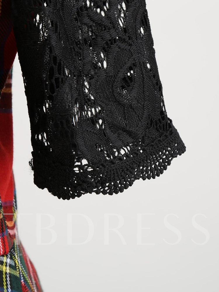 Lace Half Sleeves Expansion Women's Lace Dress