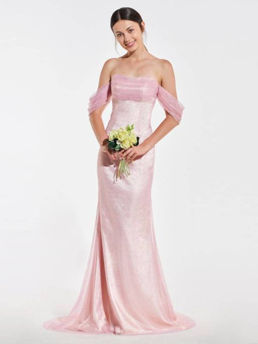 Cheap Modest Bridesmaid Dresses Under 100 Online Tbdress