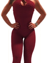 Halter Backless Breathable Onesies Sports Suit