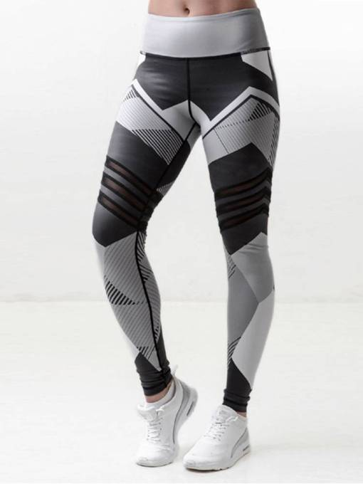 Geometric Print Women's Yoga Leggings