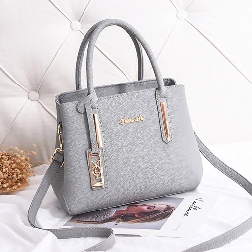 Casual PU Soft Women Tote Bag