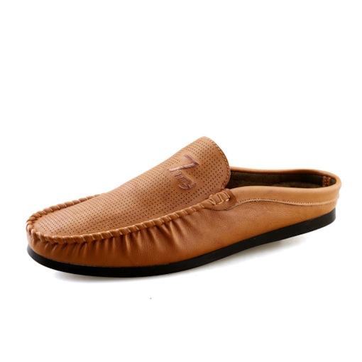 Thread Low-Cut Upper PU Slip-On Loafers for Men