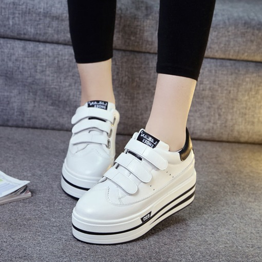 Casual Velcro Summer Skateboard Shoes for Women