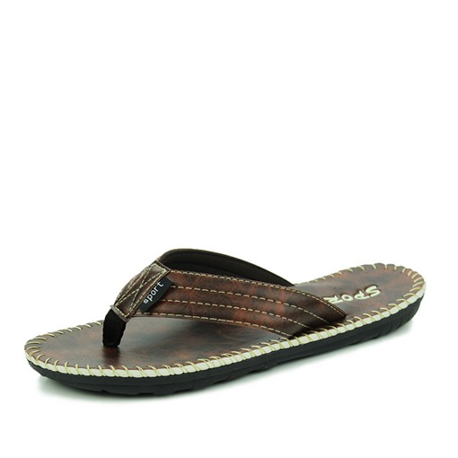 Light Thread Slip-On Casual Summer Thong for Men