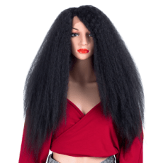 Curly Synthetic Hair Lace Front Wig For Women