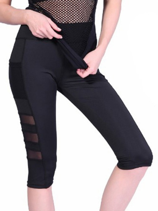 Mesh Breathable Quick Dry Running Yoga Pants
