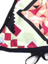Color Block Fashion Print Sexy Bikini