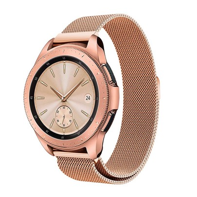 Samsung Galaxy Watch Band 42mm/46mm Milanese Stainless Steel Mesh Loop with Adjustable Magnetic Closure Replacement Band Samsung Galaxy Watch Band 42mm/46mm Milanese Stainless Steel Mesh Loop with Adjustable Magnetic Closure Replacement Band