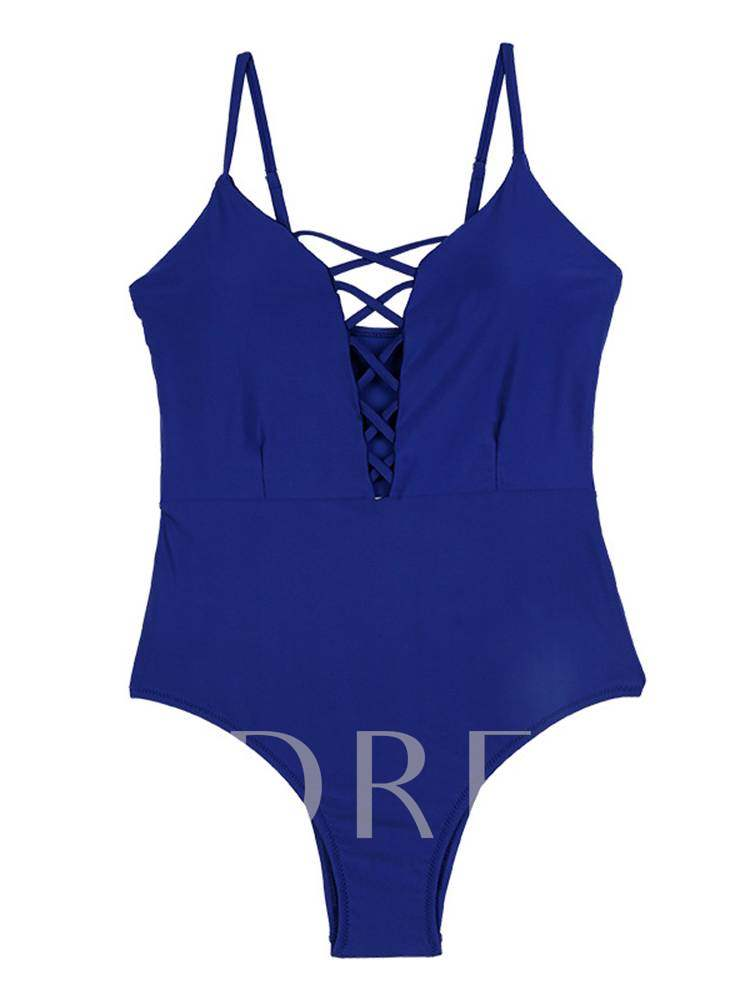 Hollow Backless Sexy One-Piece Swimsuits