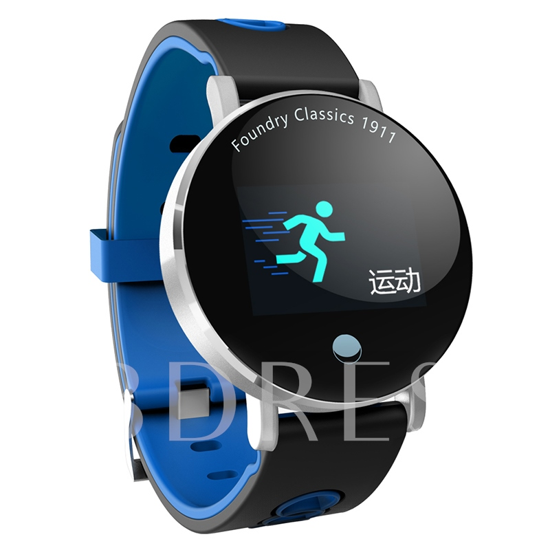 Y6Plus Color Touch-Screen Bluetooth Waterproof Calorie Counter for IOS & Android Phones