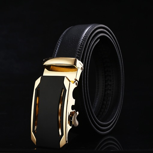 Automatic Buckle Casual Formal Men's Belts