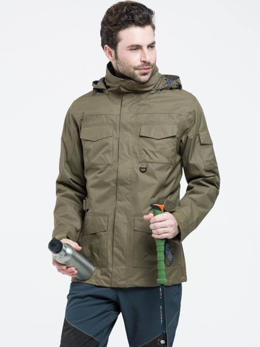 Pocket Two-Piece Men's Outdoor Jacket