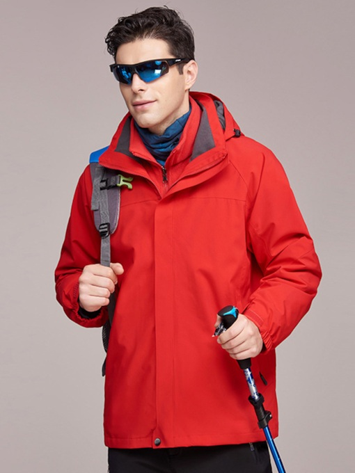 Waterproof Warm Two-Piece Men's Outdoor Jacket(Plus Size Available)