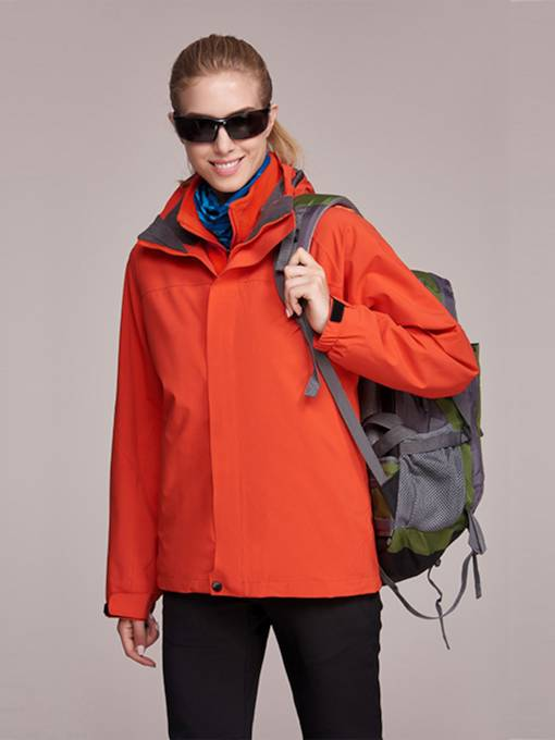 Breathable Solid Women's Outdoor Windbreaker