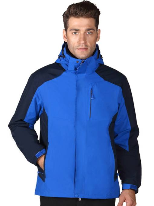 Waterproof Windproof Thermal Two-Piece Men's Outdoor Jacket