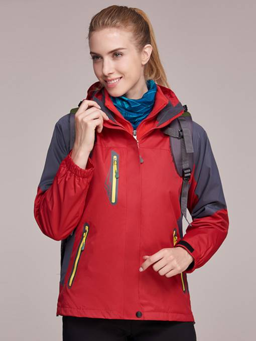Zipper Breathable Women's Outdoor Windbreaker