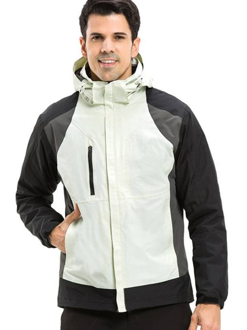 Down Liner Two-Piece Men's Outdoor Jacket(Plus Size Available)