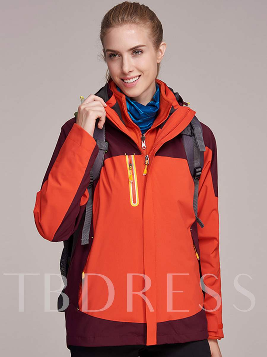 Plus Size Waterproof Windproof Hiking Climbing Women's Outdoor Jacket