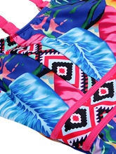 Sleaves Printing Women's One-Piece Swimsuits
