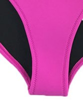 Color Block Patchwork 2-Pcs Bikini Bathing Suits