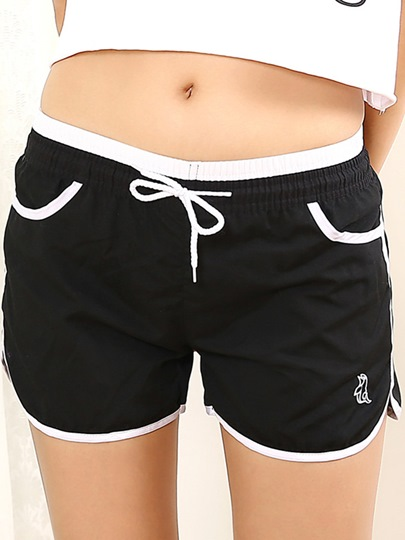 Candy Colors Quick-drying Women's Sport Shorts
