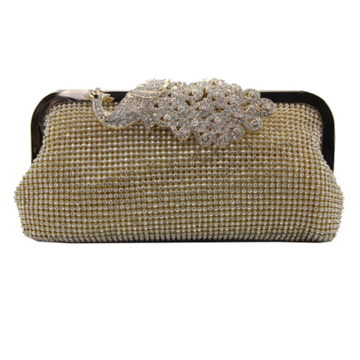 Luxury Style Rhinestone Women Evening Bag
