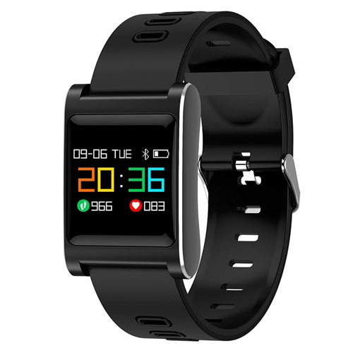 K88 Plus Smart Bracelet IP68 Waterproof Step Counter Pressure Heart Rate