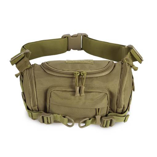 Nylon Unisex Waist Bag Army Bags