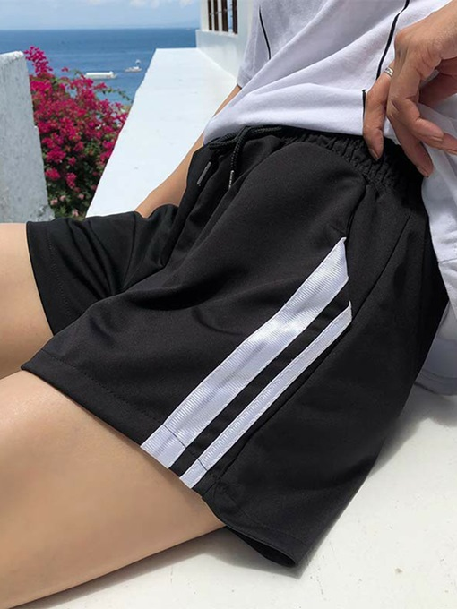 Lace-up Loose Breathable Women's Sport Shorts