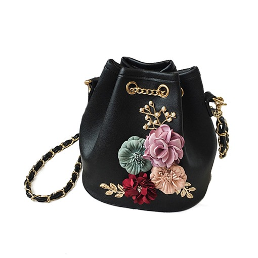 Big Capacity Barrel-Shaped Floral Bag