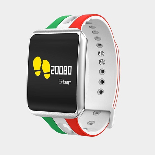 World Cup Color Smart Bracelet Waterproof Theme Blood Pressure Heart Rate
