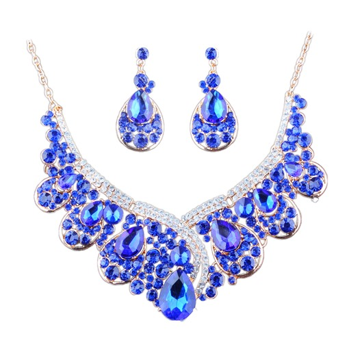 Bling Bling Gem-Imitation Charming Jewelry Sets