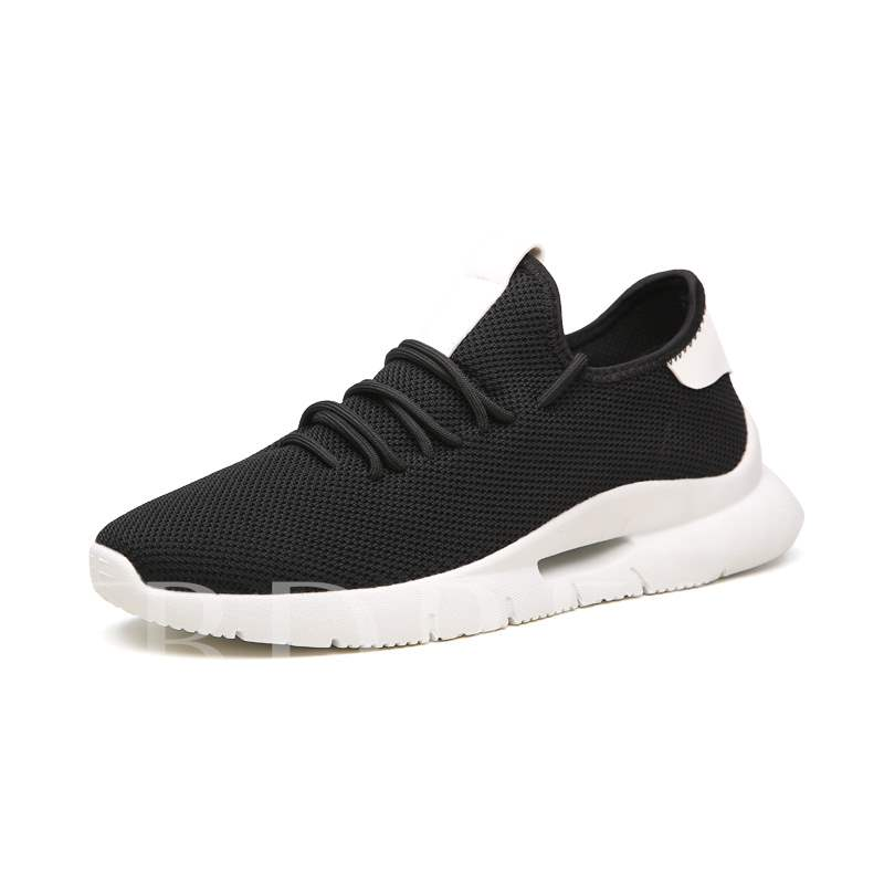 Buy Mesh Lace-Up Round Toe Color Block Light Men's Sneaker, Spring,Summer,Fall, 13320736 for $38.18 in TBDress store
