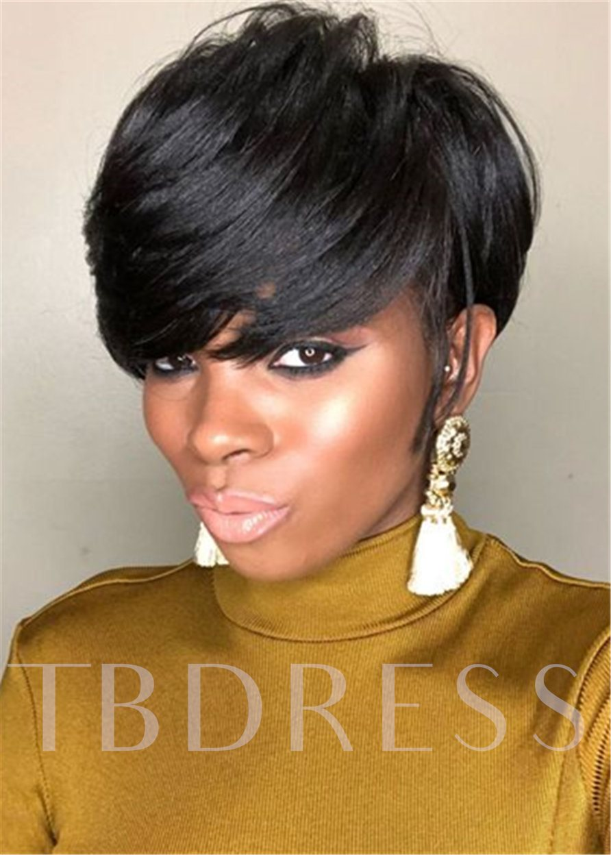Capless Straight 120% 8 Inches Wigs
