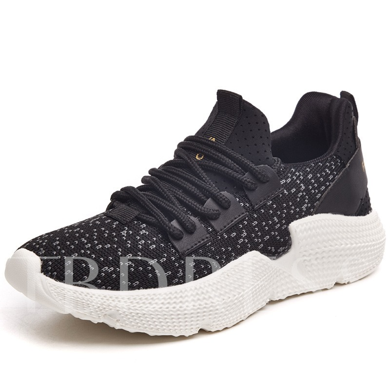 Buy Patchwork Plain Mesh Lace-Up Ladylike Women's Sneaker, Spring,Summer,Fall, 13320747 for $38.56 in TBDress store