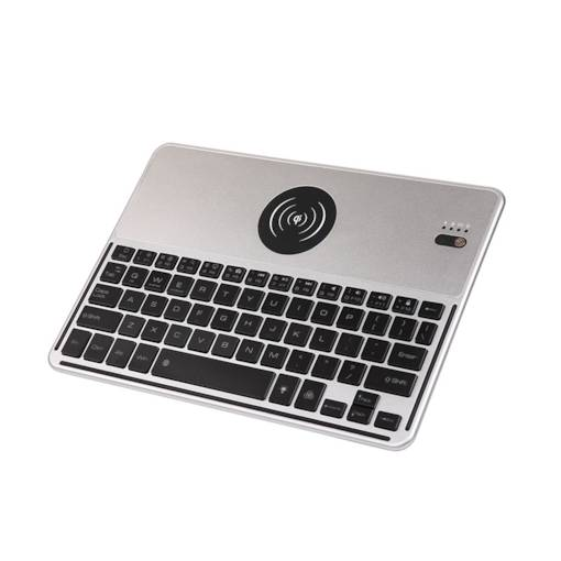 2 in1 Bluetooth Keyboard with Wireless Changer Keyboard with 7color Backlight