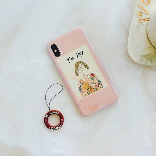 Cute Mobile Phone Decorative Lanyard with Donut Shape