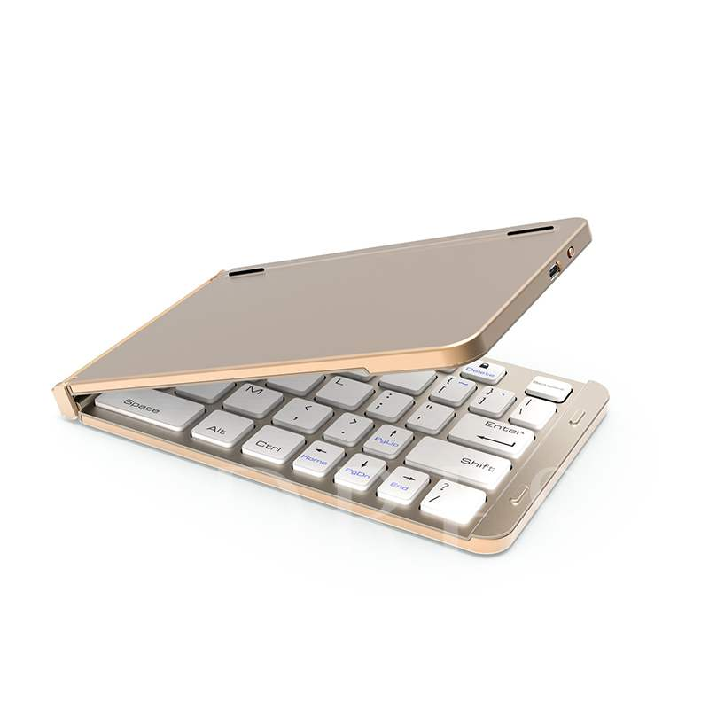 Folding Universal Wireless Bluetooth 3.0 Keyboard for iPad Android Windows Tablet Foldable Small Keyboard