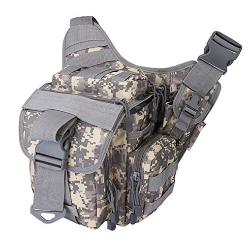 Nylon Tactical Messenger Zipper Outdoor Men's Bag