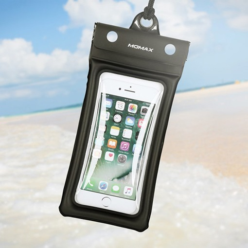 Momax Universial Air Waterproof Pouch Case Dry Bag for Pools Beach Kayaking Fishing Travel or Bath