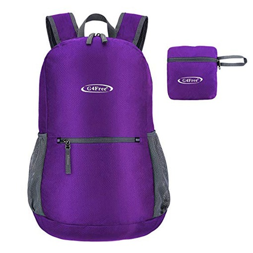 Color Block Ultra Lightweight Soft Women Backpack