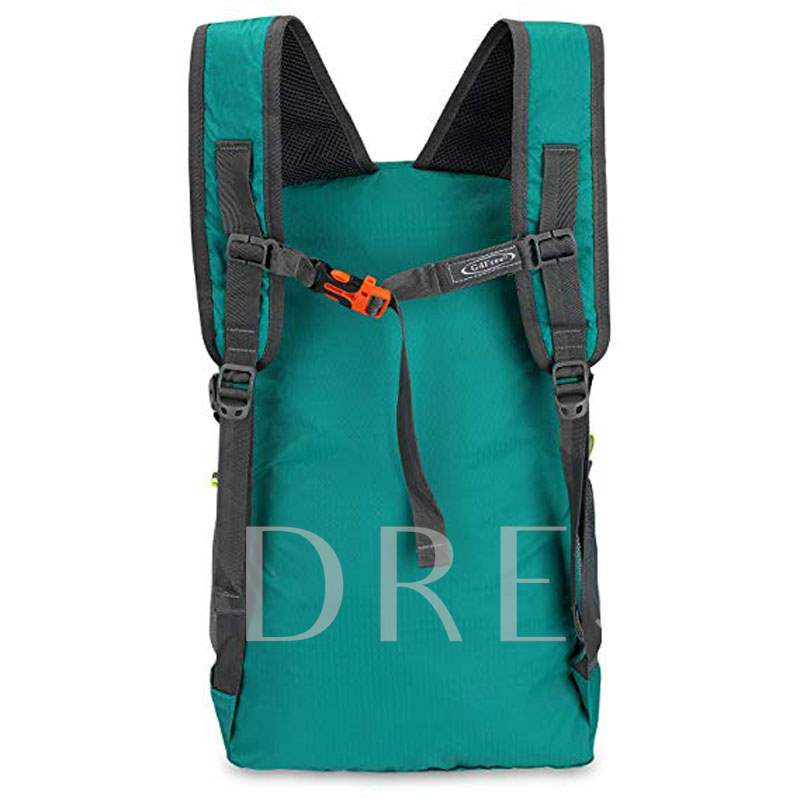 Casual Nylon Zipper Medium Soft Backpack