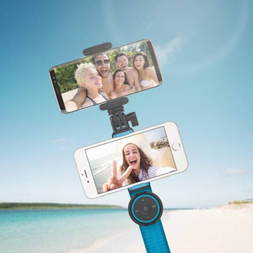 Momax KMS10 Bluetooth Wireless Selfie Stick with Two Shooting Positions 720 Degree Camera Angle