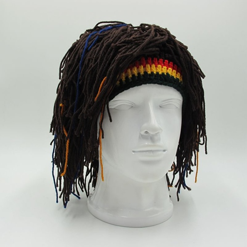 Personalized Handmade Ddreadlock Knitted Hat
