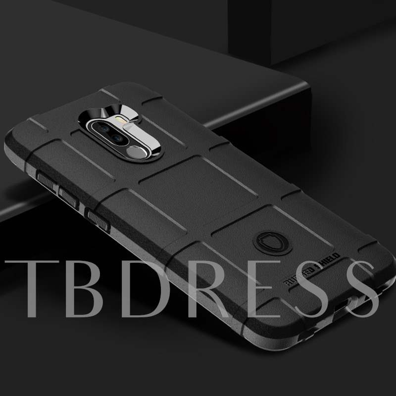 Xiaomi Pocophone F1 Silicone Anti-Fall Phone Case Soft Shell