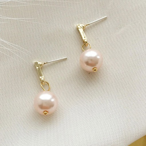 Classic Sweet Pearl Earrings